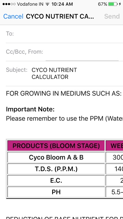 Cyco Nutrient Calculator screenshot-3