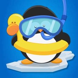 Penguin Slide Adventure: Cool Frozen Catch
