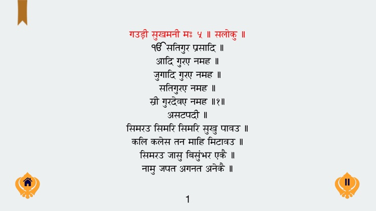Sukhmani Sahib in Gurmukhi Hindi English MP3 Free screenshot-4