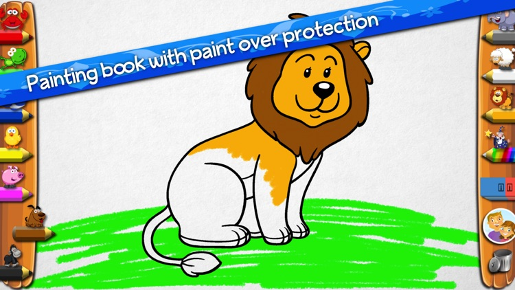 Coloring Book With Animals screenshot-0