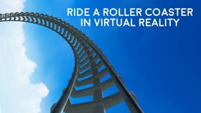 Virtual Reality Roller Coaster for Google Cardboard VR screenshot