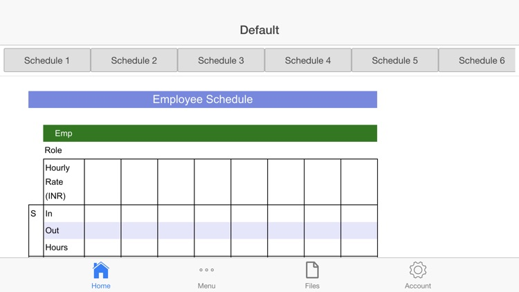 Employee Schedule Pro screenshot-1