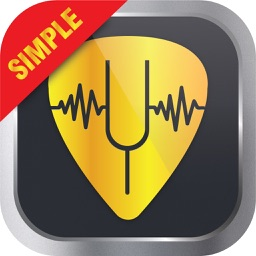 Simple Guitar Tuner - Free Chromatic Tuner for Classical, Acoustic and Bass Guitars