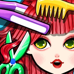 Crazy Hair Salon! Princess Fashion Doll SPA