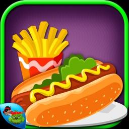 Hotdog fever-Crazy Fast Food cooking fun & kitchen scramble game for Kids,Girls,Boys & Teens