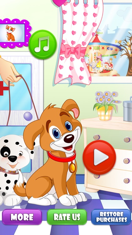 Pet Vet Dentist Doctor - Games for Kids Free screenshot-4