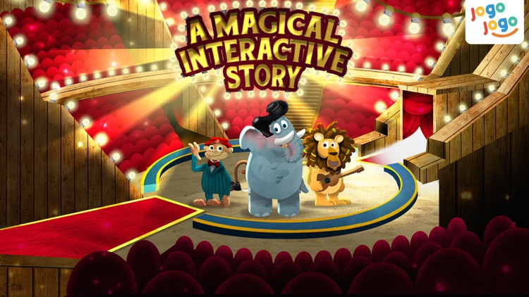 Jogo Circus Animals - Finishing your plate of food is fun!
