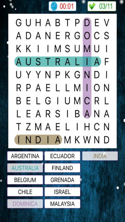 New Word Search Game screenshot-3