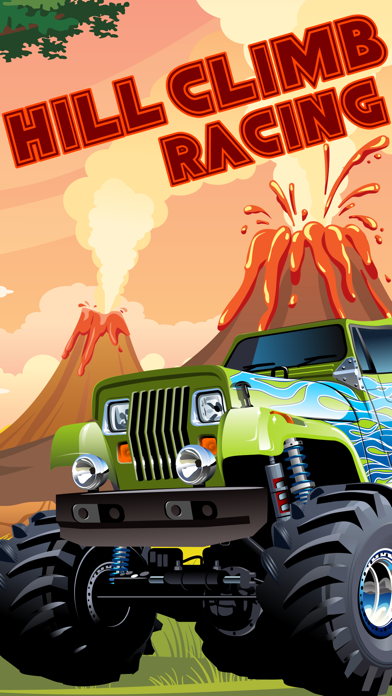 Monster 4x4 Truck hill game  - car racing game