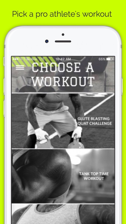Proday Athlete Workout: Weight lift & body build abs & butt with squat, hiit & cardio