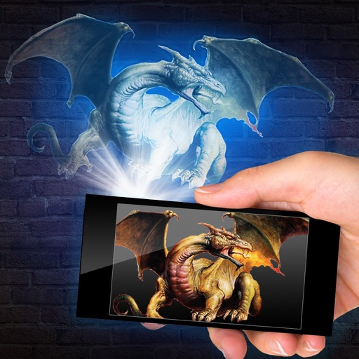 Проектор Дракон 3D Шалость