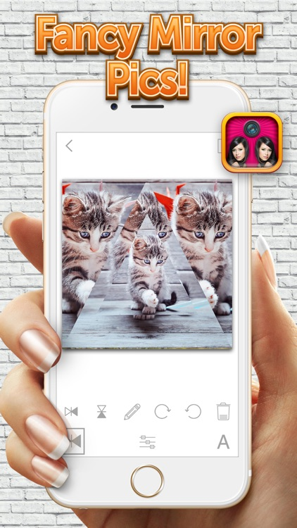Mirror Camera Effects – Photo Reflection Blender for Making Cool Clone Pics screenshot-3