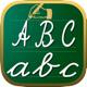 почерк рабочие листы 123 ABC обучающие игры для детей: научиться писать буквы алфавита в сценарии и прописью