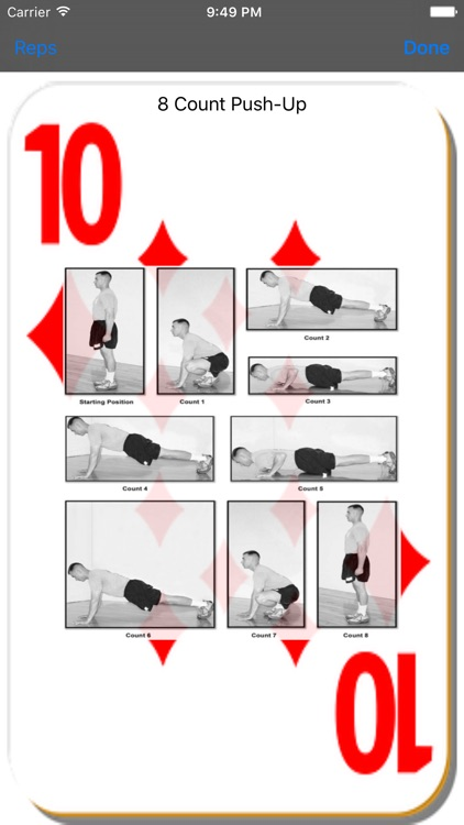 Deck of Cards Workout