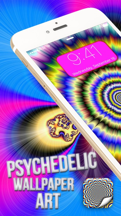 Psychedelic Wallpaper Art – Hypnotic Background Pics for Optical Illusions and Eye Trick.s