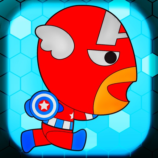 Super-Hero Infinity Run - for Captain-America and Iron-Man Adventure Edition