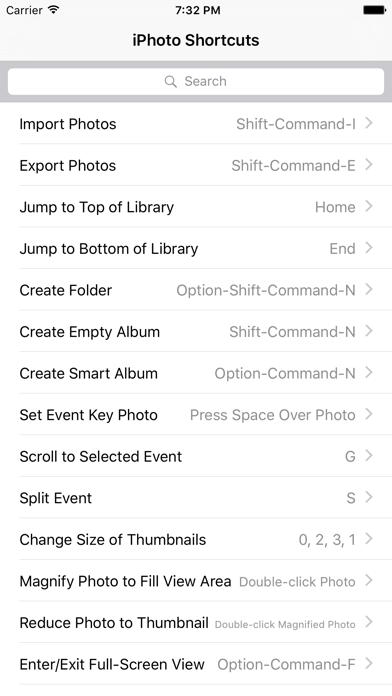 Shortcut: iPhoto Edition