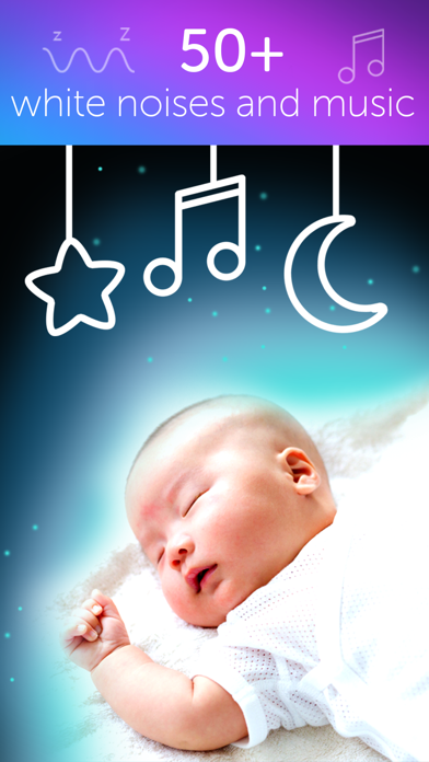 White Noise Machine - Sounds for Baby relaxation and help babies sleep screenshot one