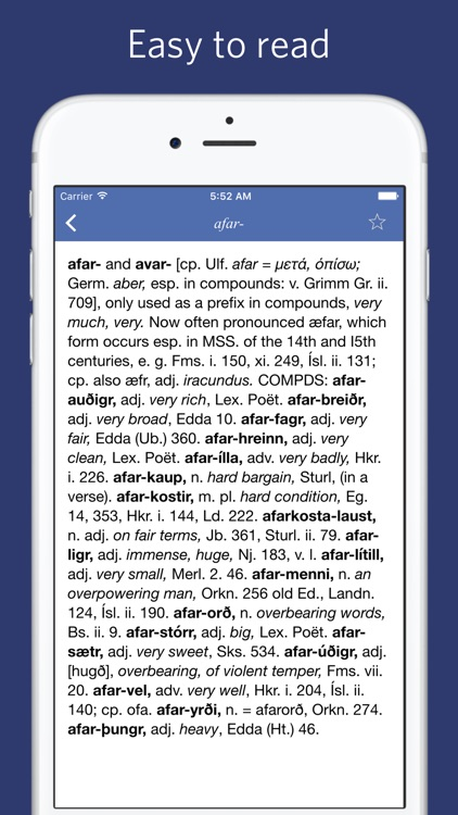 Icelandic English Dictionary screenshot-3