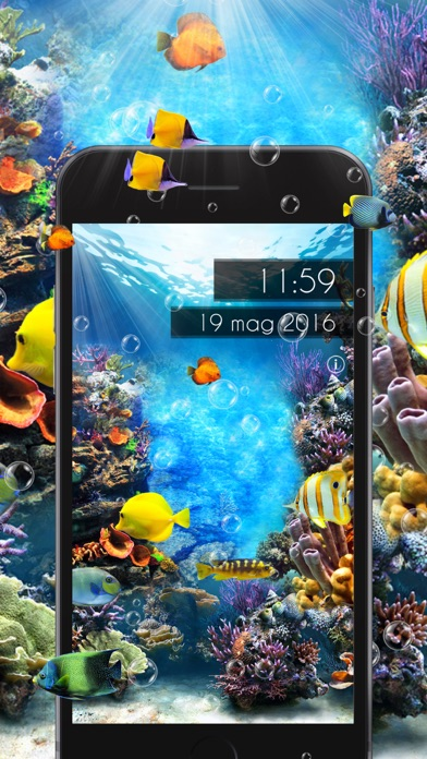 Amazing Aquarium Clock 2 LITEのおすすめ画像2