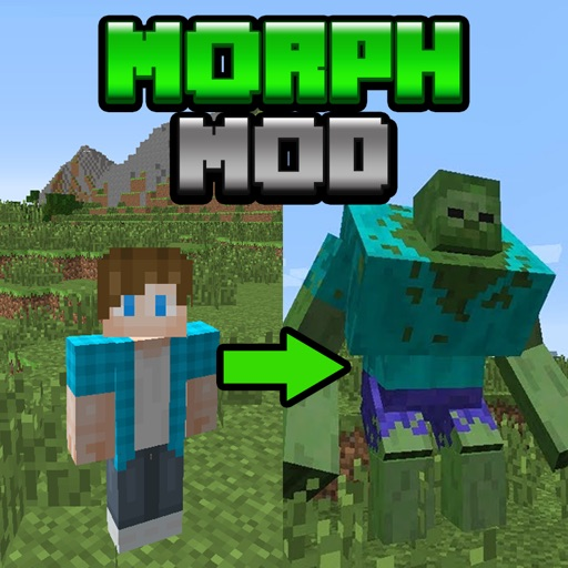 MORPH MOD with Dragon & Horse for Minecraft PC Guide Edition