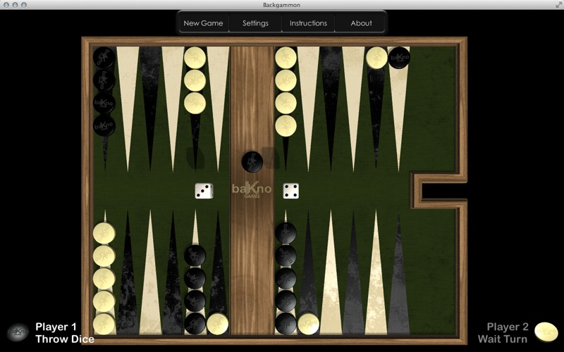 Backgammon for Mac