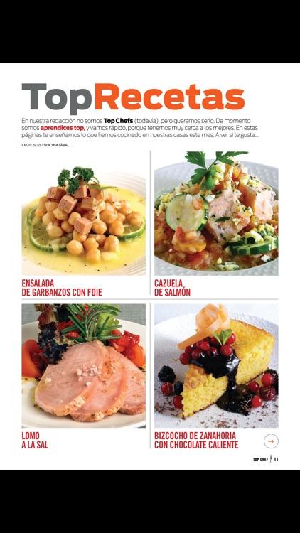 Top Chef la revista
