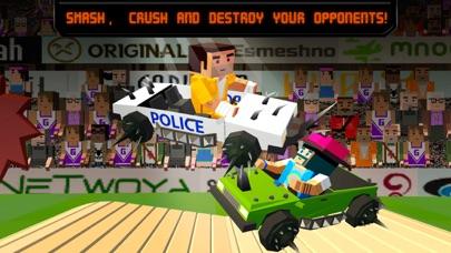 Pixel Car Fighting Arena 3D screenshot two