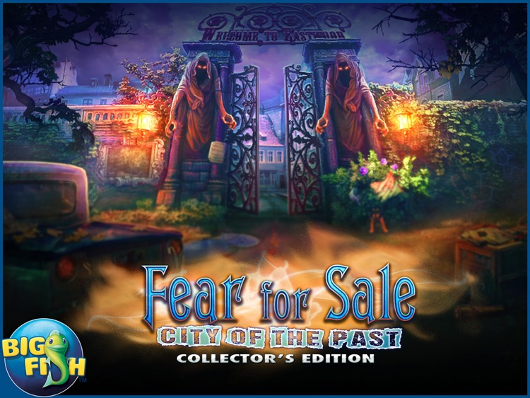 Fear for Sale: City of the Past HD - A Hidden Object Mystery (Full) screenshot-4