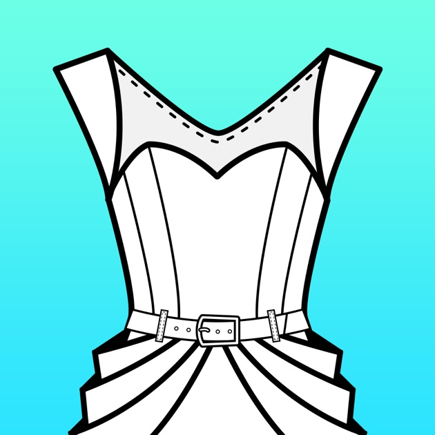 Line Art Apk : Fashion design flatsketch on the app store