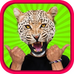 Animal Head Photo Sticker Booth - Funny Animals Face Changer Montage Maker