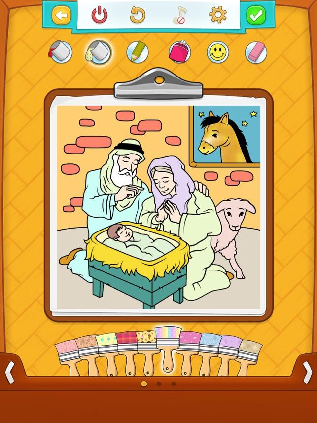 Ausmalbilder Bibel Im App Store