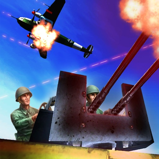Allied WWII Base Defense - Anti-Tank and Aircraft Simulator Game FREE