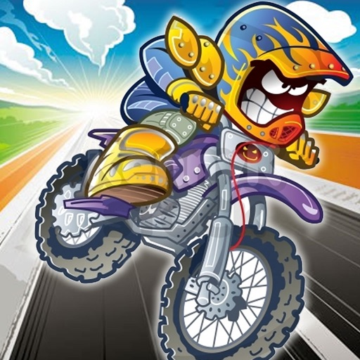 A Super Crazy And Monstrous Bike - Extreme Motorcycle Game icon