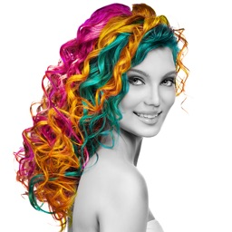 Hair Color Effects - Hair Color & Recolor Styling Booth