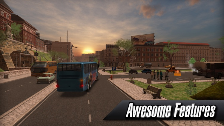 Coach Bus Simulator screenshot-4
