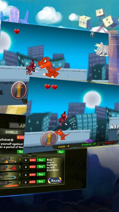 The Running Man: Red Robot's Fighting screenshot one