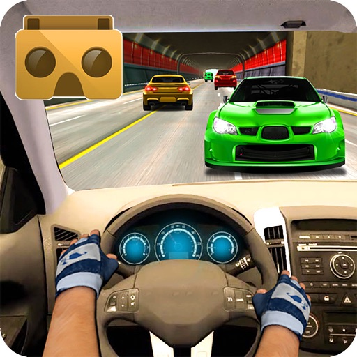 VR Race in Car icon