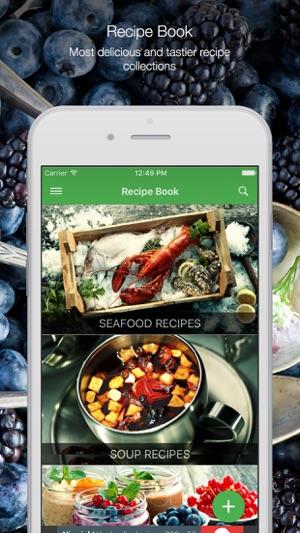 Recipe book free recipes en app store capturas de pantalla del iphone forumfinder Choice Image