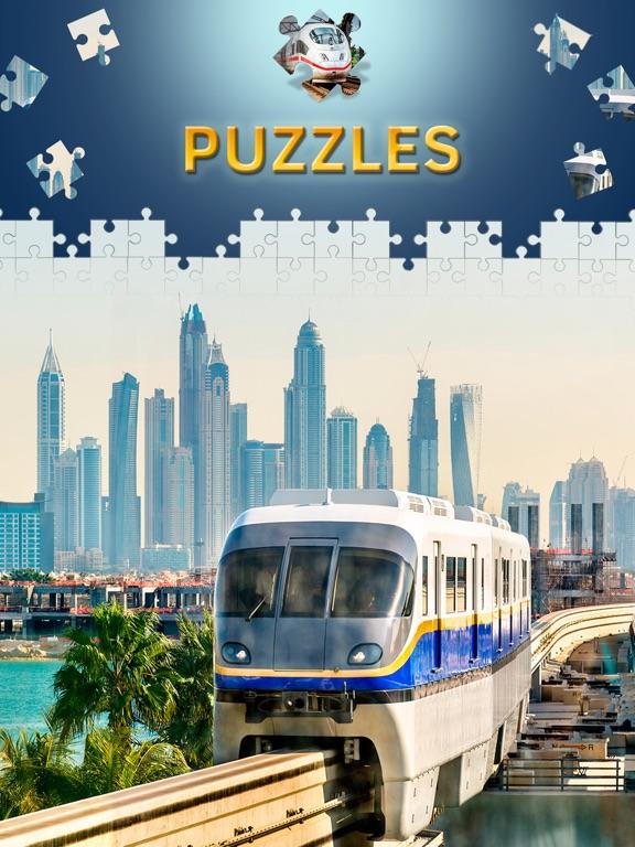 Пазлы поезда игры головоломки пазлы с уровнями для iPad