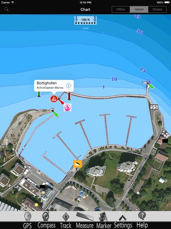 Walen lake Nautical Charts Pro
