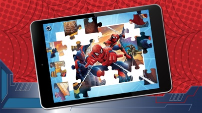 Puzzle App Spiderman screenshot four