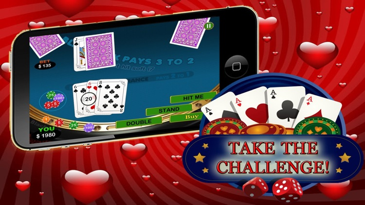 Ace Queen Of Hearts - Black Jack Beat The Vegas Casion Competition screenshot-3