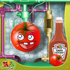 Activities of Tomato Ketchup Factory – Make carnival food in this cooking mania game for kids