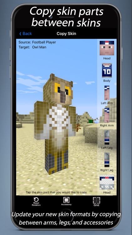Skin Designer 3D for Minecraft screenshot-3