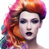 Cabelo cor alterar aplicação - Tentar várias formas e penteado com peruca