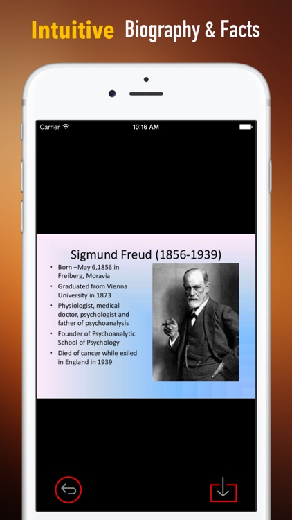 Biography and Quotes for Sigmund Freud: Life with Documentary screenshot-0