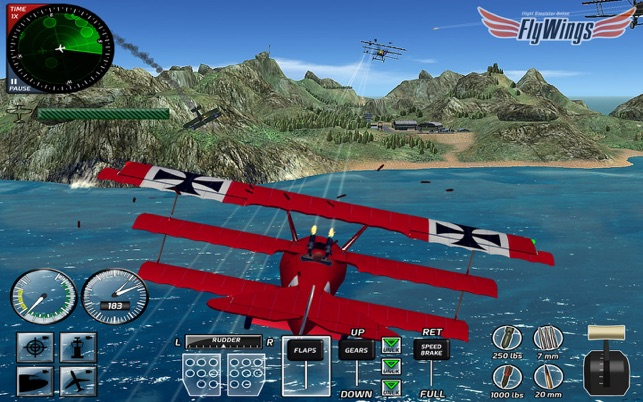 ‎Combat Flight Simulator 2016 Screenshot