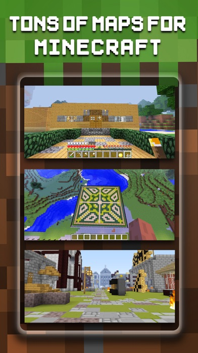 Maps & Mods FREE - Map Seed & Mod for MineCraft PC Editionのおすすめ画像1