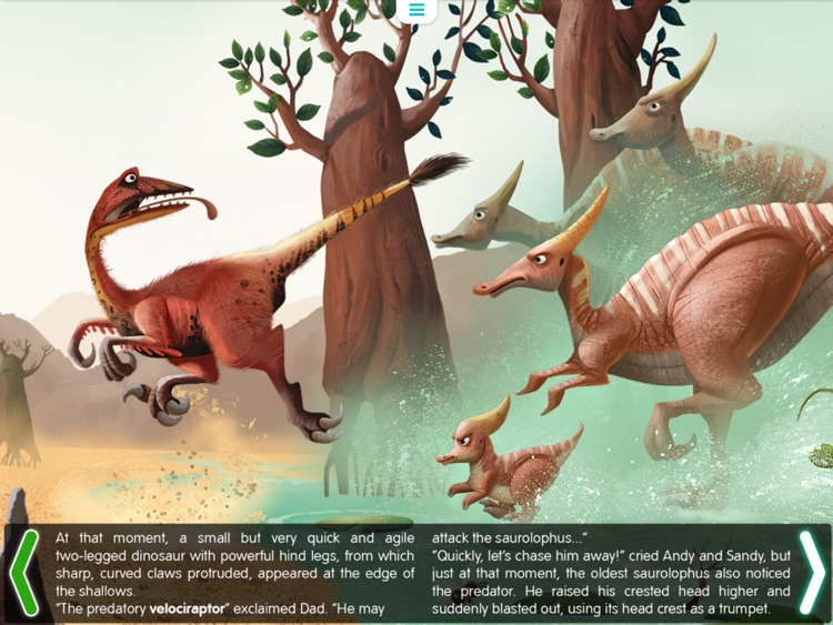 Planet of Dinosaurs. Interactive journey in the Jurrassic era. screenshot-4